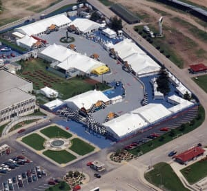 A-variety-of-tent-structures-including-clear-span-tents-frame-tents-pole-tents-and-tension-tents-for-a-sporting-evernt