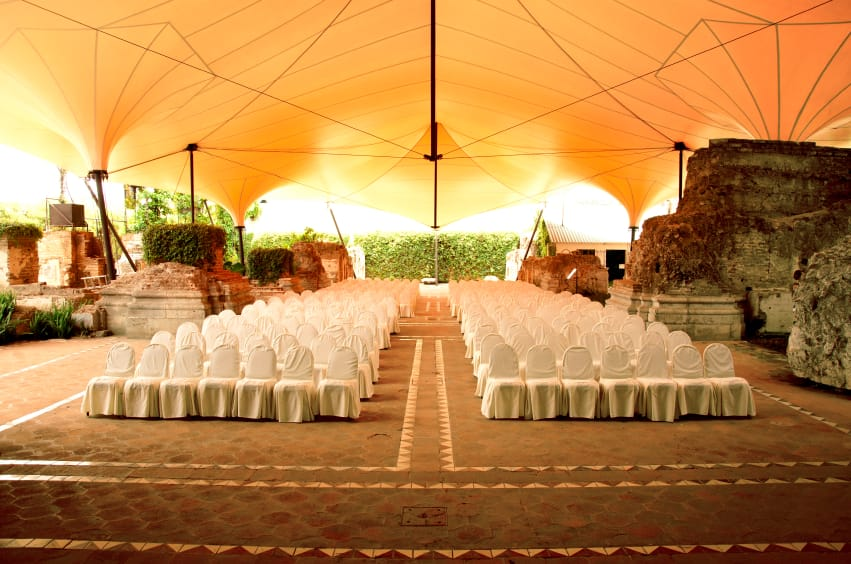 Outdoor Events Under A Tent | American Pavilion