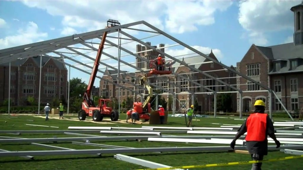 temporary structures | American Pavilion
