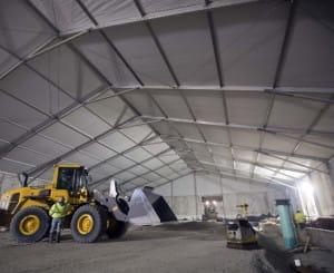 4 Benefits of Construction Tents | American Pavilion
