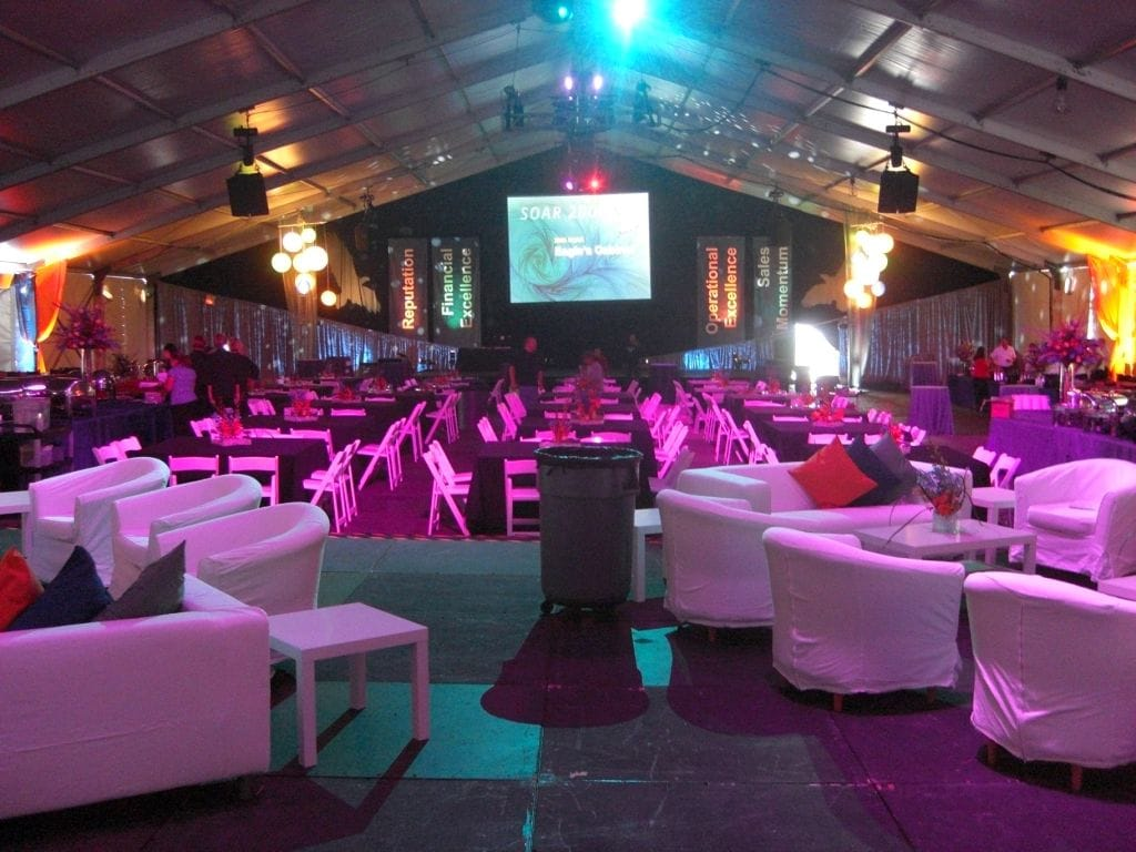 LARGE COMMERCIAL TENT RENTAL: CLEARSPAN TENTS   American Pavilion