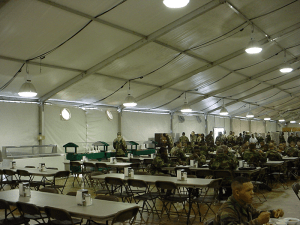 Fabric Structures Support Our Troops | American Pavilion