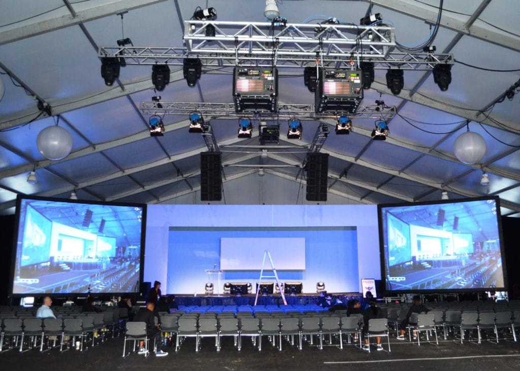 Three Ways to Use a Clear Span Tent for an Event | American Pavilion