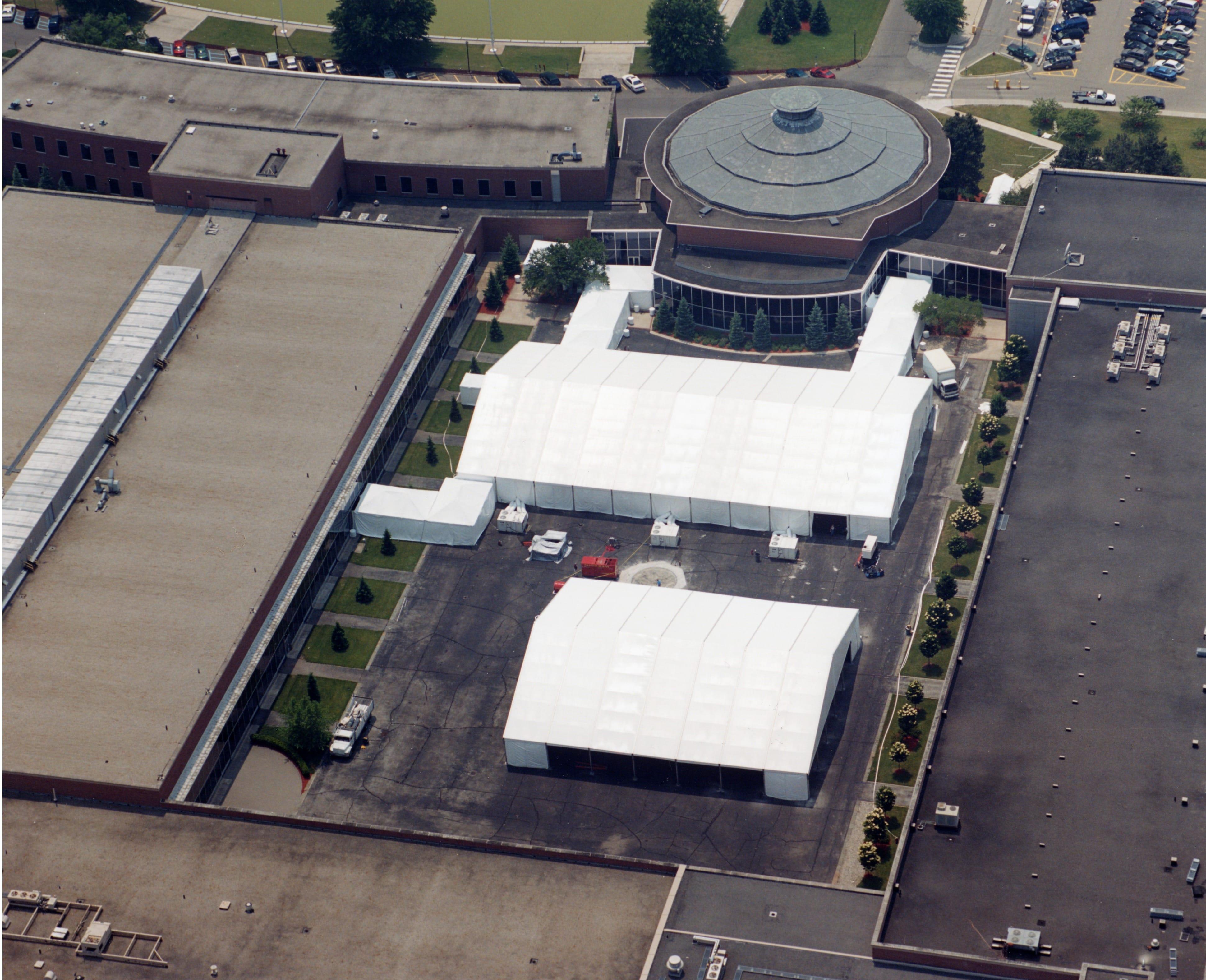 Losberger Tents | American Pavilion