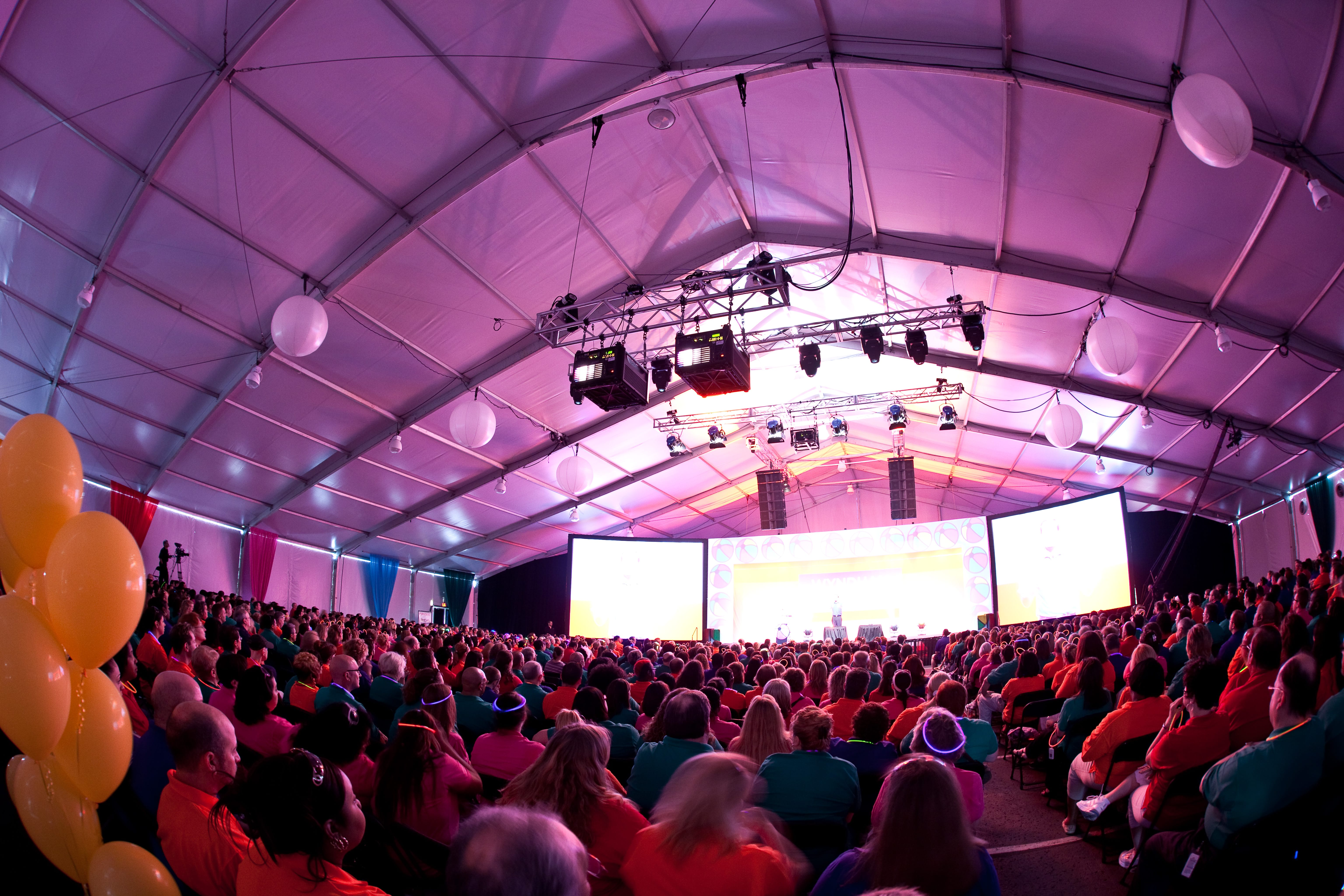 Clearspan Tent | American Pavilion