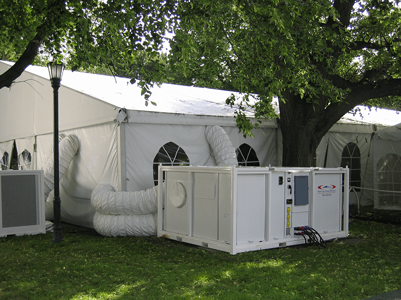 Temperature Controlled Tent | American Pavilion