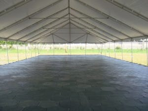 rental floor, tent floor, heavy duty tent floor, hex-a-deck