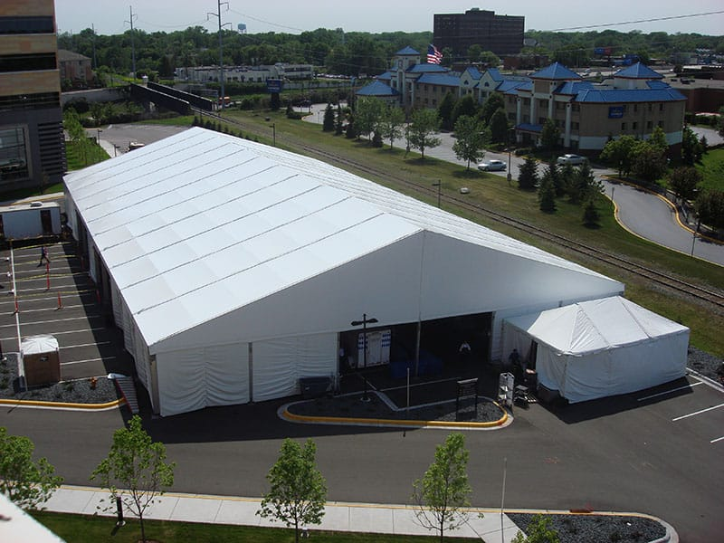 TEMPORARY BUILDINGS DELIVERED AND INSTALLED NATIONWIDE | American Pavilion