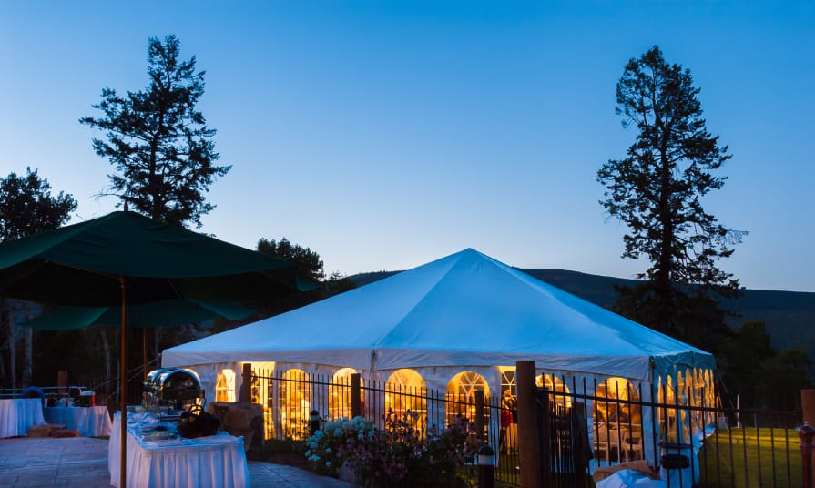 Renting a Tent for a Special Event   American Pavilion