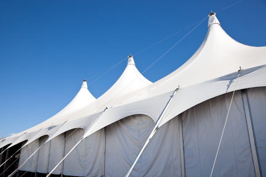 How an Industrial Tent Can Save the Day | American Pavilion