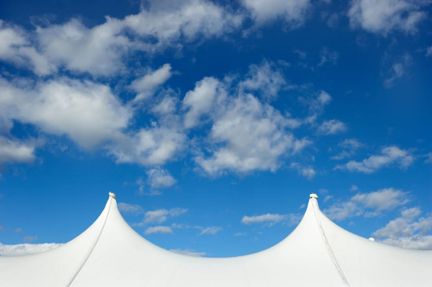 Temporary but Tough: Heavy Duty Tents | American Pavilion