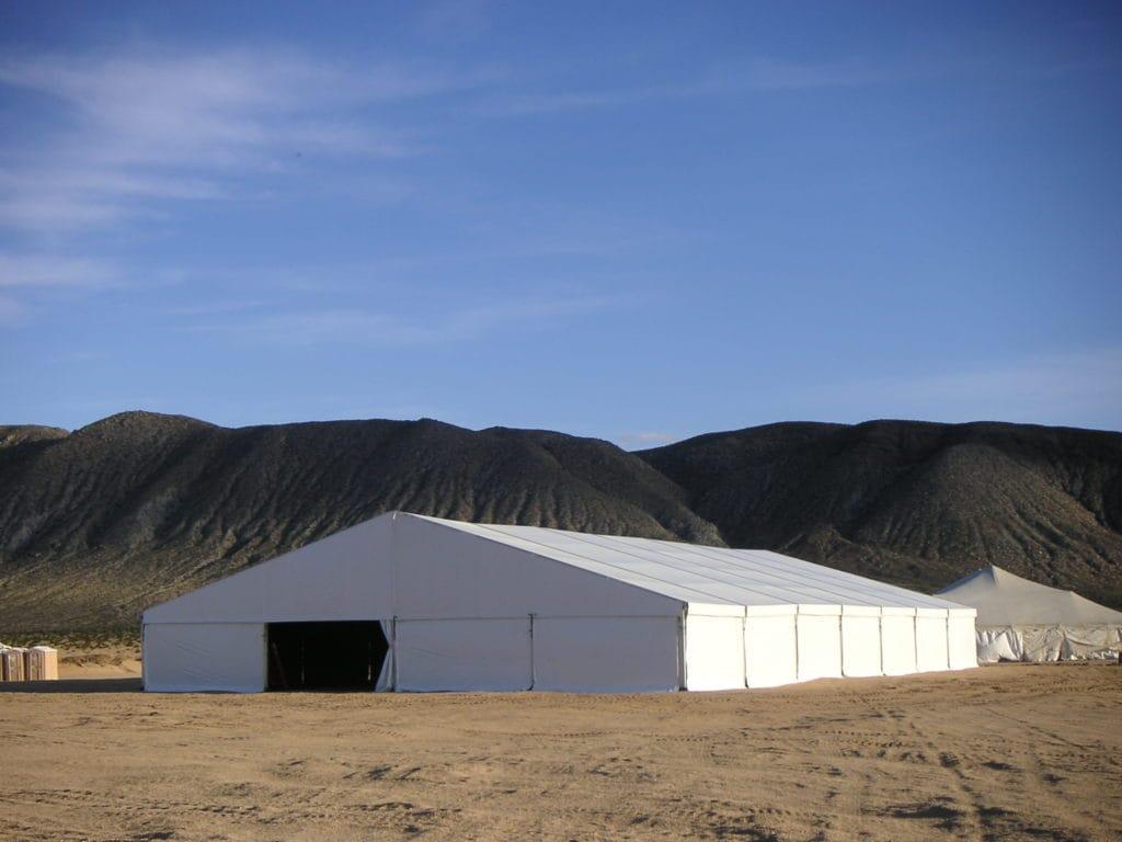 Military Tent | American Pavilion