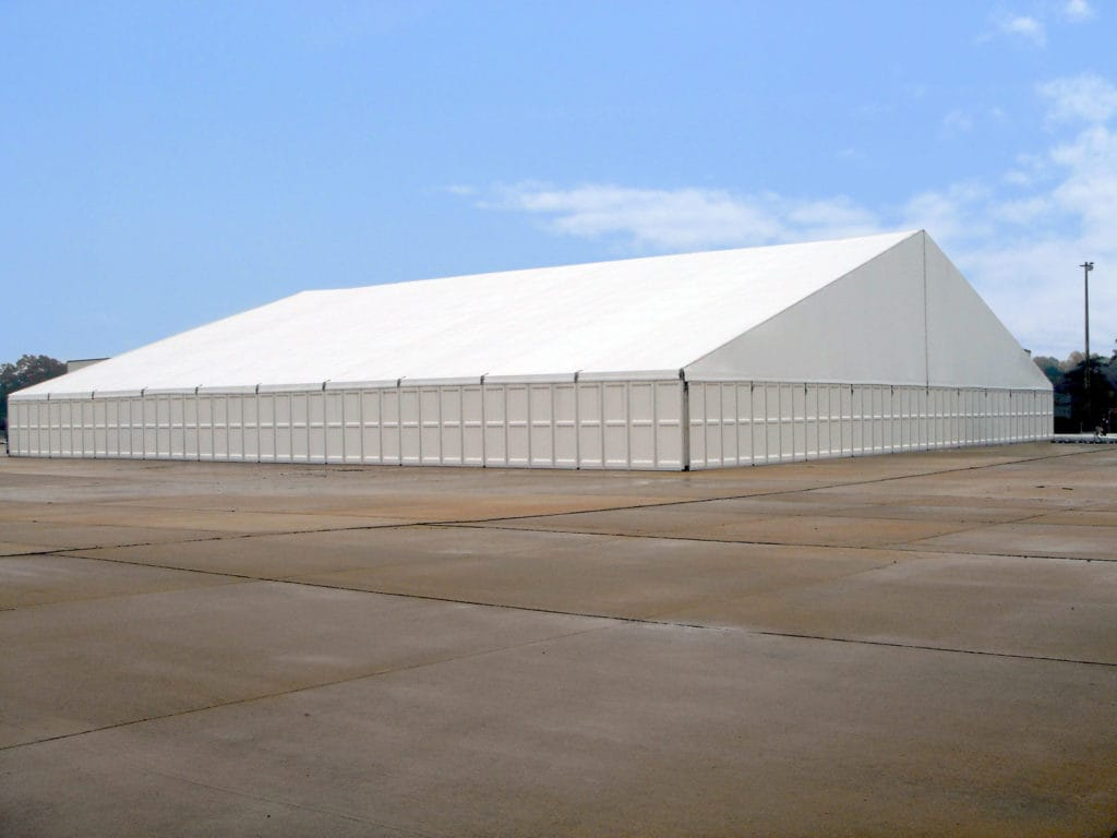 50m Hardwall Military Tents in Fort Benning | American Pavilion
