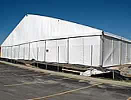 Construction Tent | American Pavilion