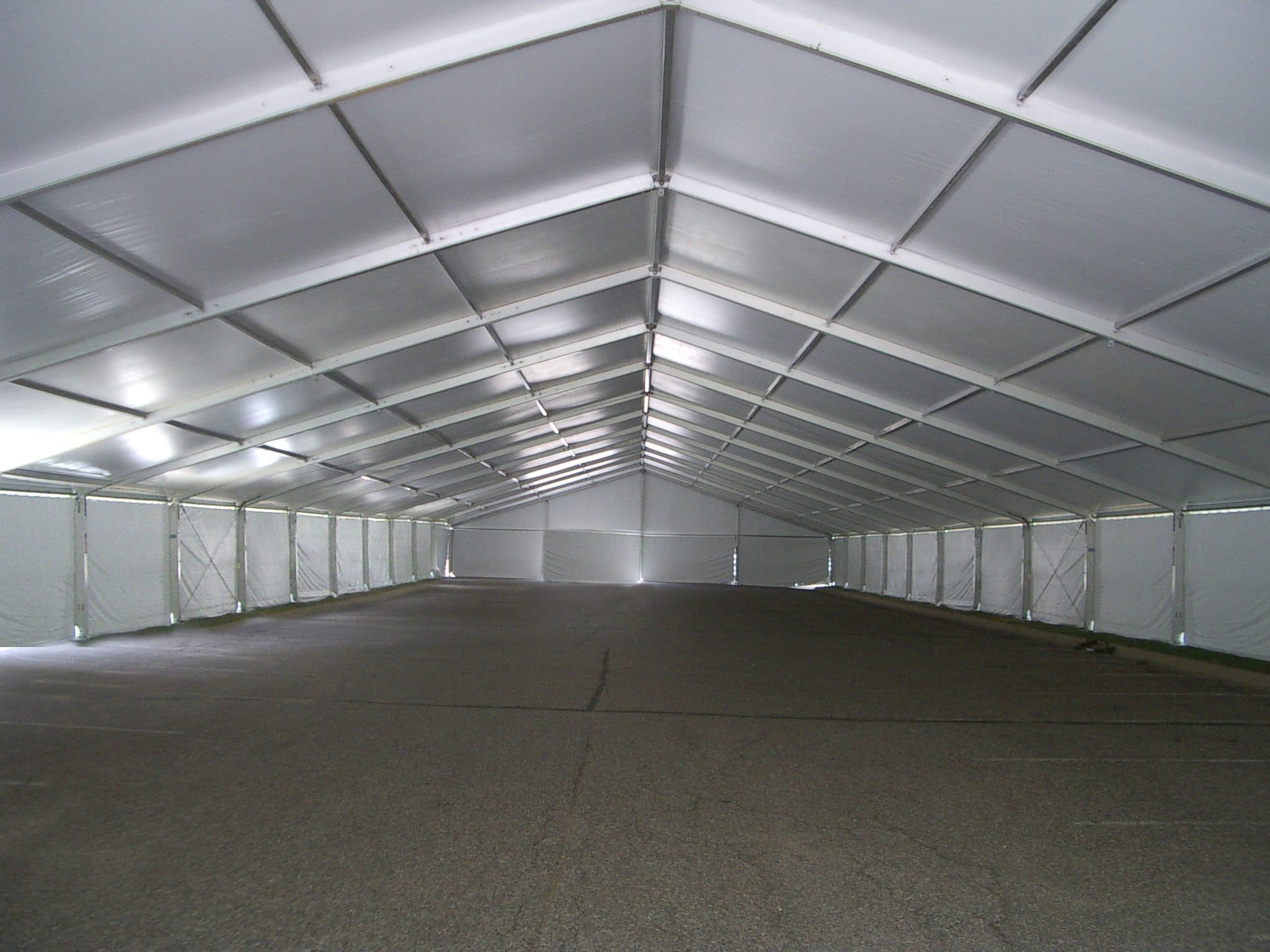 Clear Span Structure Tent Rental
