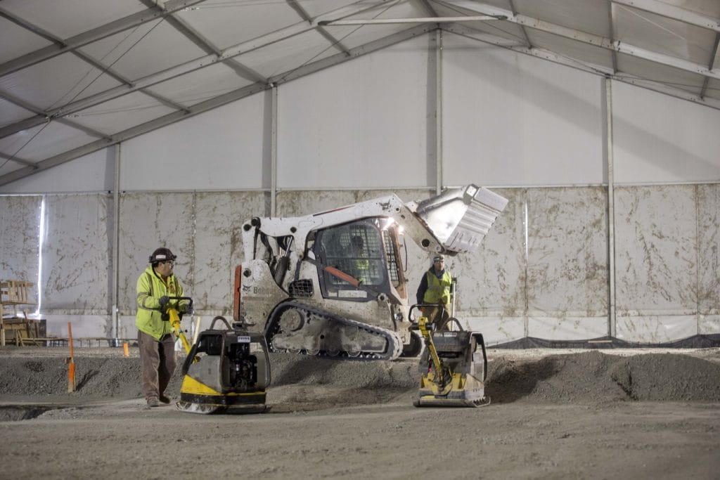 Understanding the Idea of a Construction Tent | American Pavilion