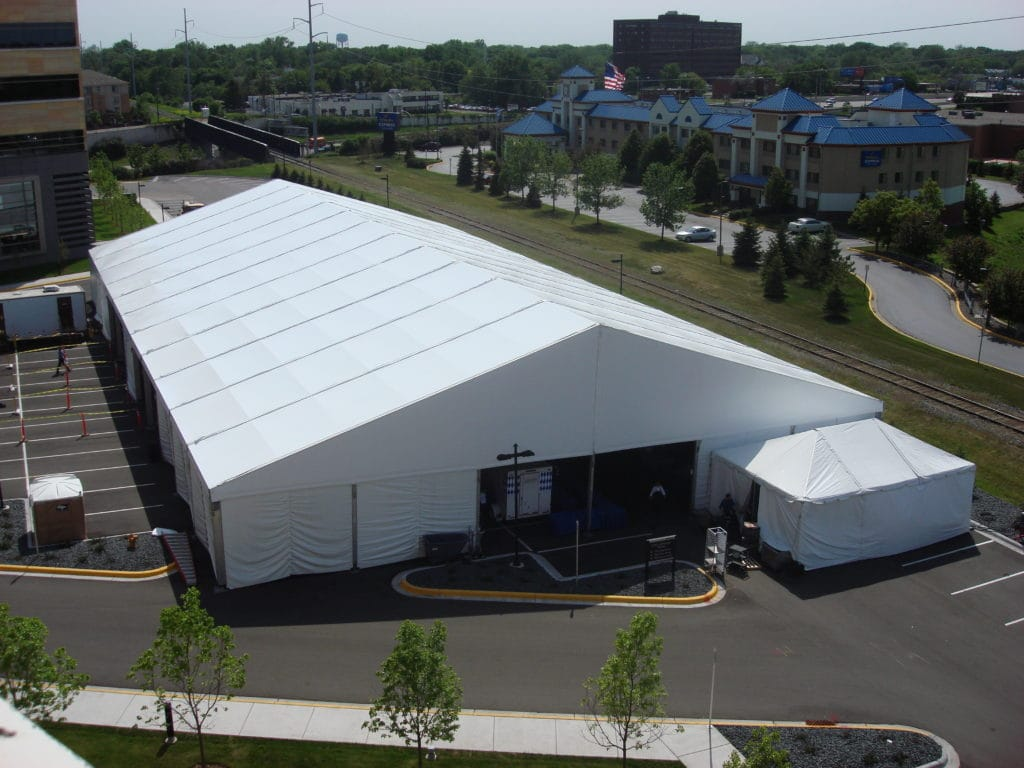 Temporary Storage Structure | American Pavilion