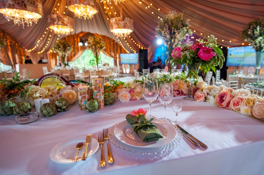 How To Decorate A Tent For A Wedding American Pavilion