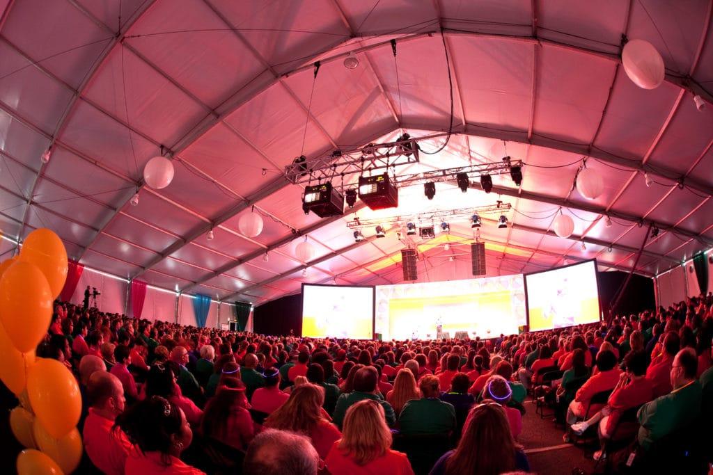 Large Tent | American Pavilion