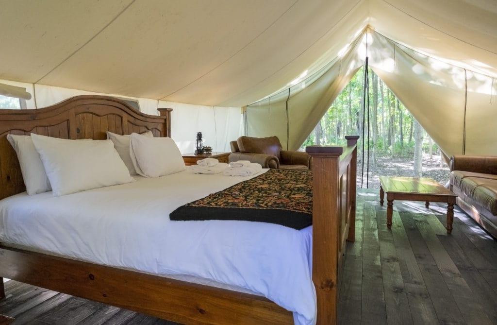Luxury Camping | American Pavilion