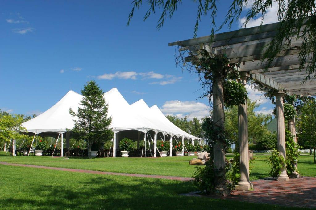 Tipos de tendas para festas |  Pavilhão Americano