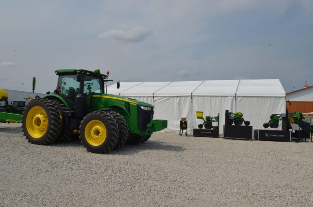 Agricultural Use of a Commercial Clear Span Tent   American Pavilion