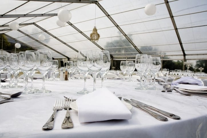How To Plan A Tented Winter Wedding Reception American Pavilion